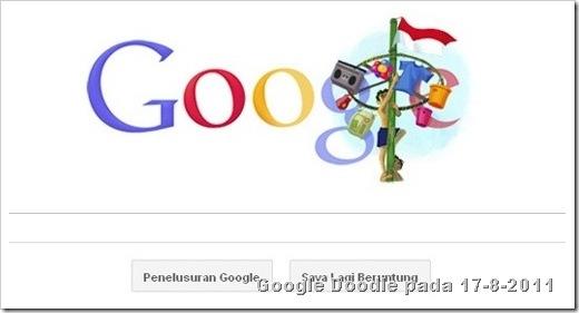 google doodle 17 agustus 2011