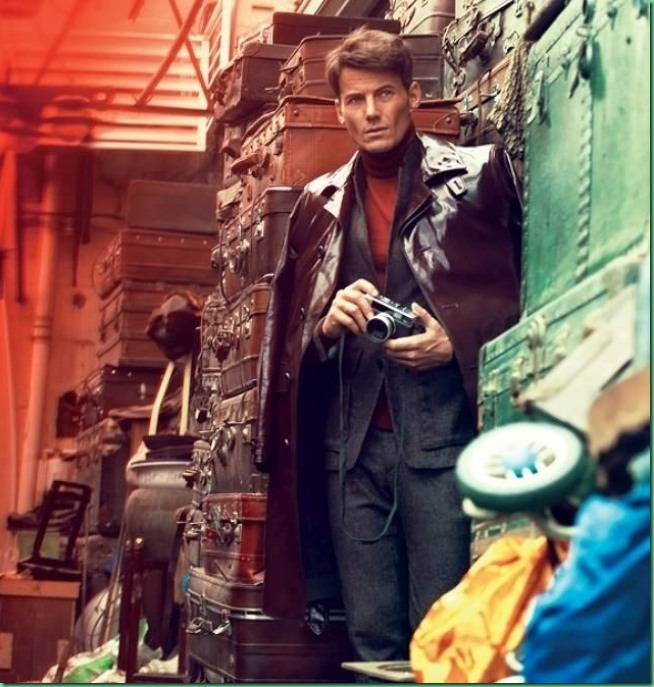 """Alex Lundqvist is """"Red"""" for GQ Russia September 2013"""