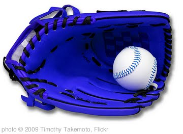 'Another Blue Baseball Glove' photo (c) 2009, Timothy Takemoto - license: http://creativecommons.org/licenses/by/2.0/