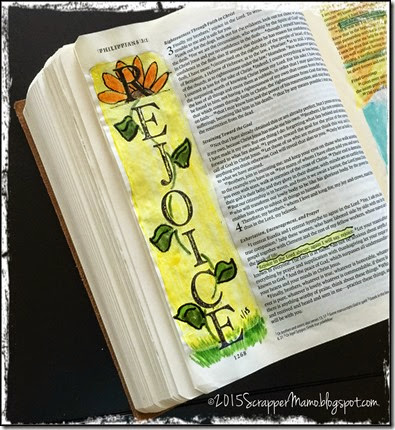 Rejoice in the Lord Bible Journal