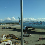 leaving Vancouver Airport in Vancouver, British Columbia, Canada