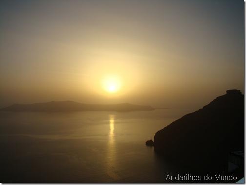 Por do Sol Santorini