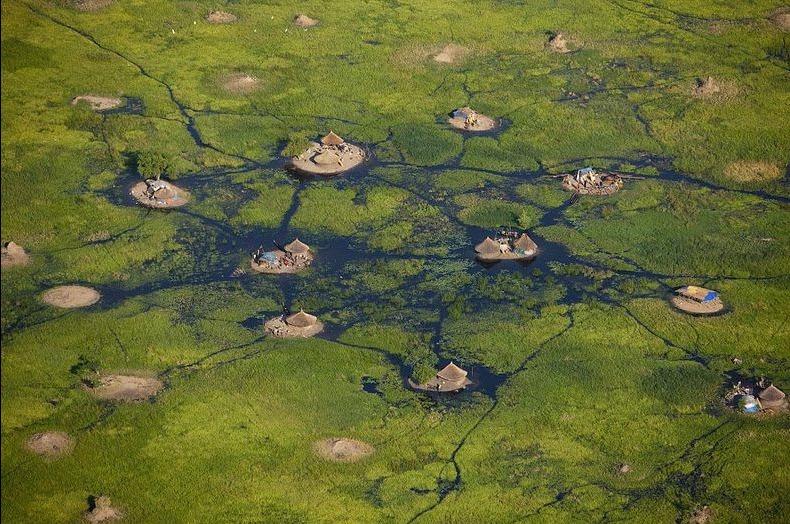 Островитяне Южного Судана