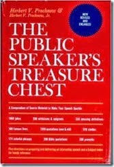 public speakers treasure chest