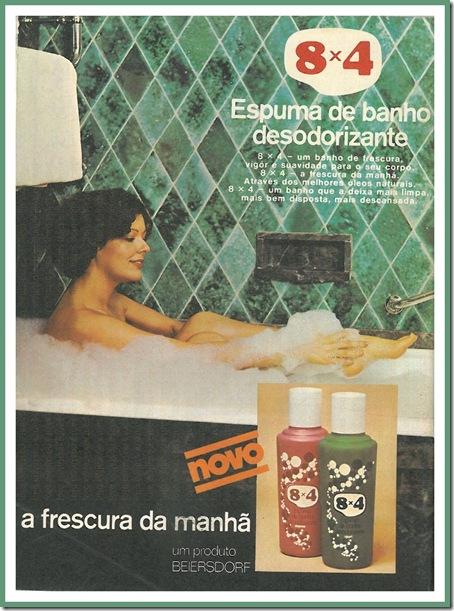 8x4 espuma de banho desodorizante