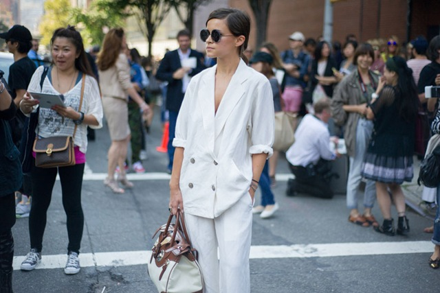 Inspiration: All in white