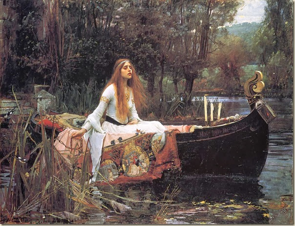 John William Waterhouse, The Lady Of Shallot 1888