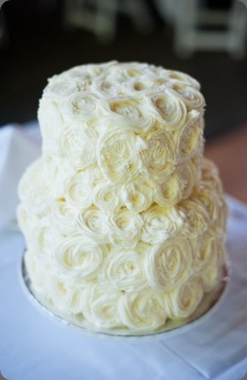 Pretty-White-Rosette-Floral-Wedding-Cake-300x451 cafe solstice