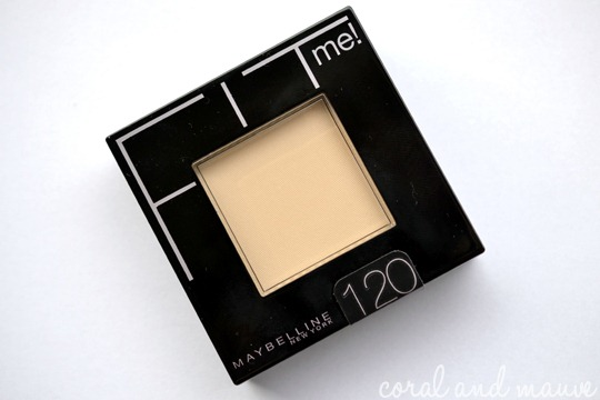 Maybelline FIT ME Puder 120