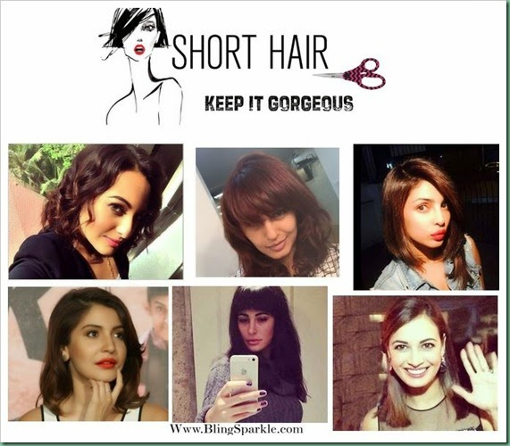Short hair trend bollywood