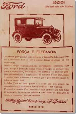 Anúncio antigo Ford 04