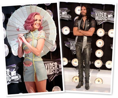View Katy Perry and Russell Brand