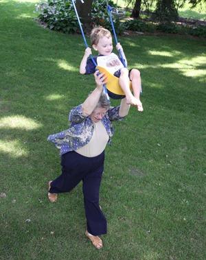 Swinging with Grandma July 2011 (20)