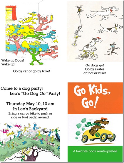 go dog go invitation