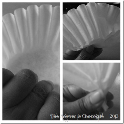 Coffee Filter Folds