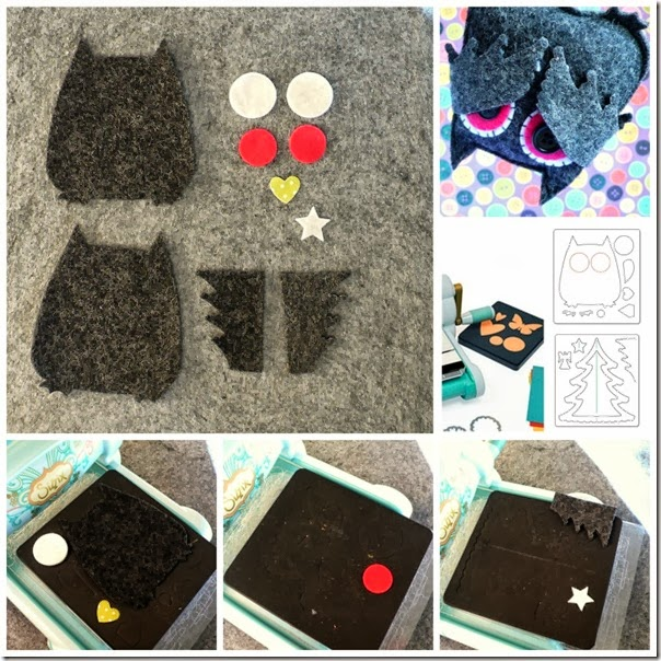 cafe creativo - Anna Drai - sizzix big shot - owl bat halloween felt (5)