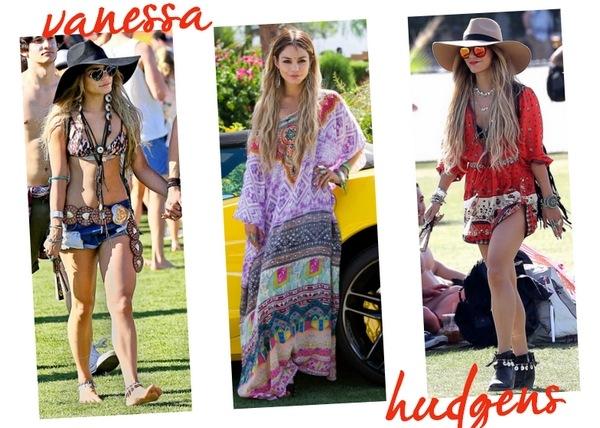 Looks famosas Coachella 2014 02 - Vanessa Hudgens