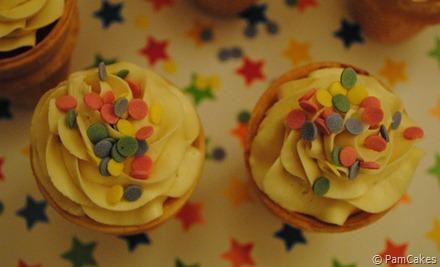 Cupcakes de helado