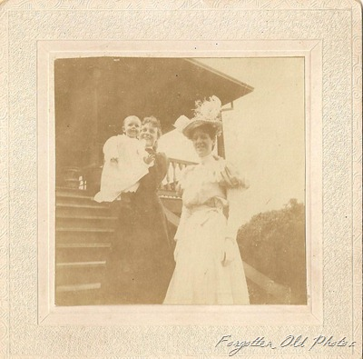 Celia and Adrianne Williams and Mrs Prescot 1897