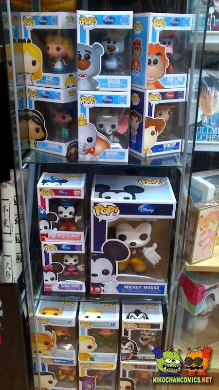 Figuras vinyl POP! de Funko en Nikochan Comics