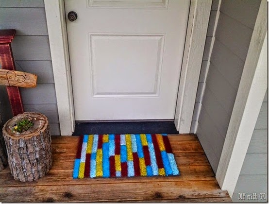 painted door mat
