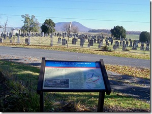 Battle of Cross Keys - Civil War Trails Marker at site of battle