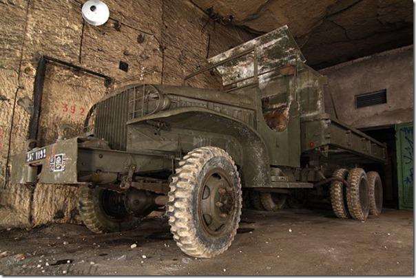 Francês da Primeira Guerra Mundial em um Bunker (10)