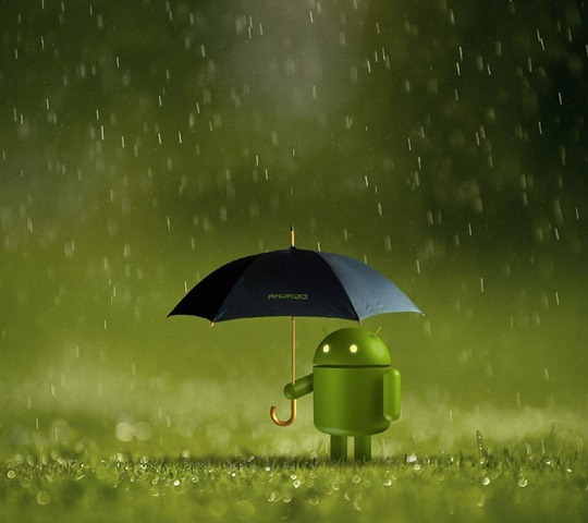 Android in Rain_33579569