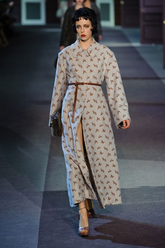 Louis Vuitton Fall 2013 edie-campbell