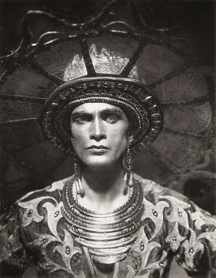 "Conrad Veidt from the movie ""Das Indische Grabmal"", directed by Joe May Berlin, Germany, 1921."