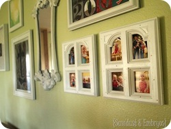 Cabinet Doors into Picture Frames {Sawdust and Embryos}
