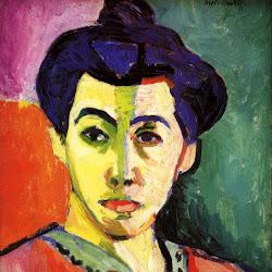 02.- Matisse. Retrato de la raya verde