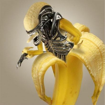 Banana Alien