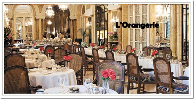 restaurante Orangerie