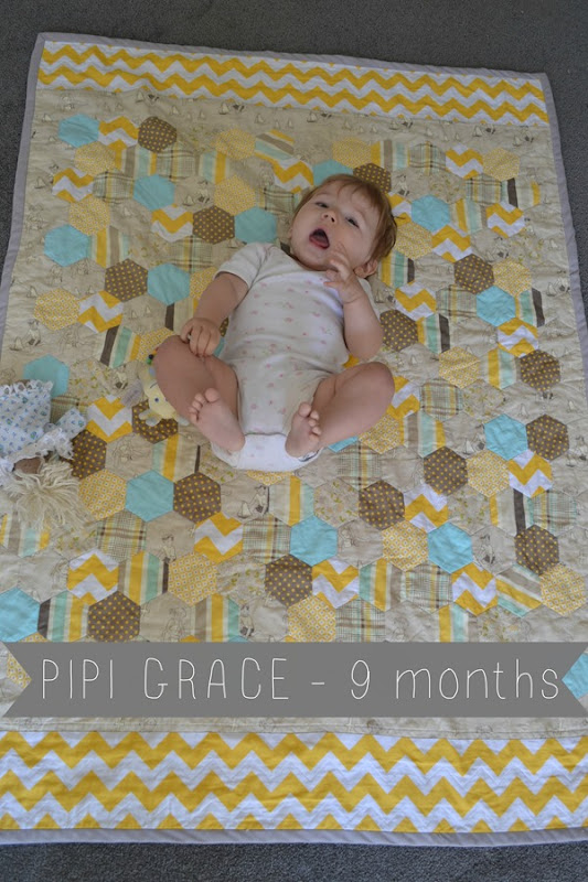 Pipi Grace 9 months