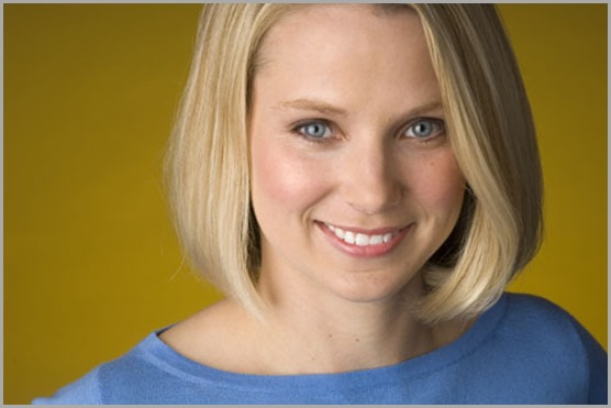 CLICK for a full bio of Yahoo! president and CEO Marissa Mayer