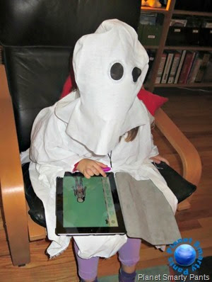 Ghost-on-an-iPad