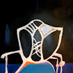 &quot;White Chair&quot; Gouache/Acrylic