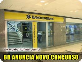 concursos - edital concurso BANCO DO BRASIL 2012 Escriturário