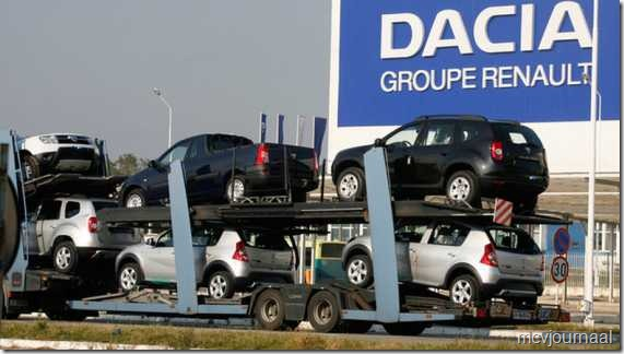 Dacia op transport 01