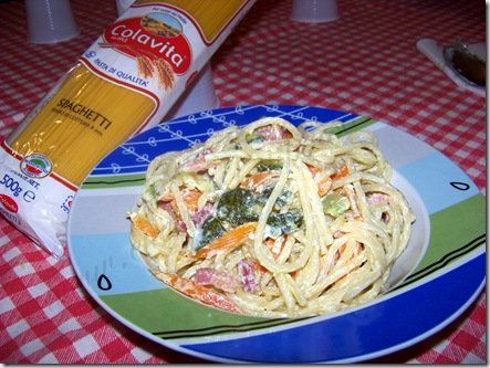 spaghetti colorati dell&#39;orto ricetta (9)