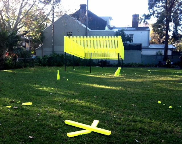 Performance Space, Art Installation, Wimbo Park Surry Hills