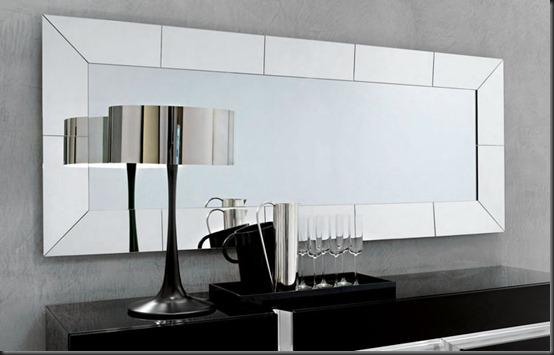 Espejos para tu ba o decoracion de interiores for Espejo con marco biselado