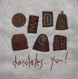 SKOW chocolate block