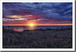 - Sunrise  w flareDSC_5347_HDR February 01, 2012 NIKON D3S