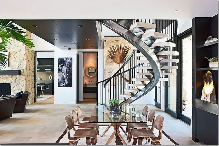 Modern-Stainless-Spiral-Staircases-Design