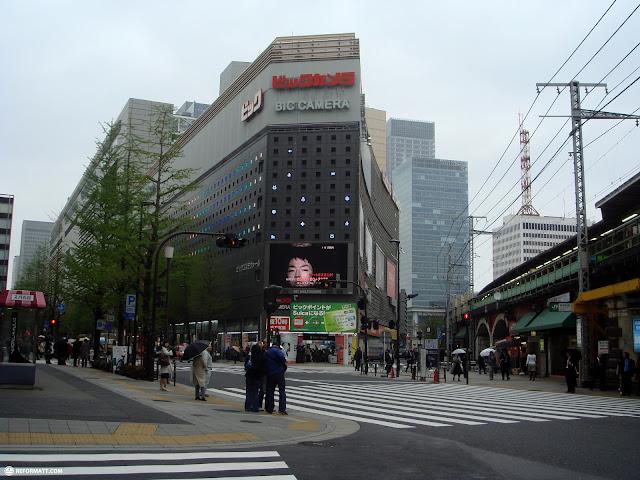 bic camera shop in Tokyo, Tokyo, Japan