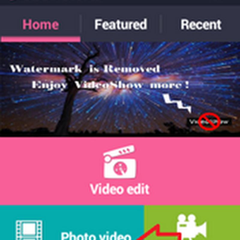 นำภาพถ่ายใน smartphone หรือ tablet มาทำเป็นวีดีโอประกอบเสียง