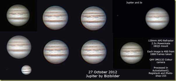 27 October 2012 Jupiter