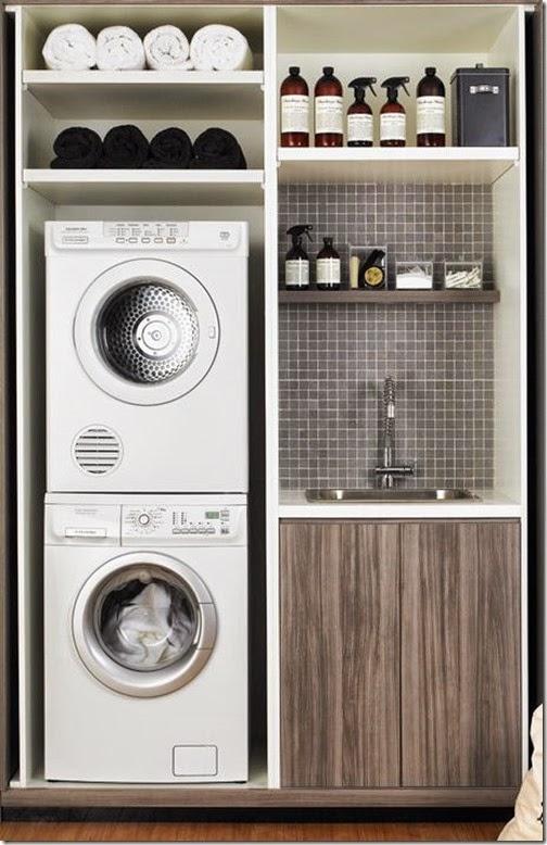 Armadio-lavanderia